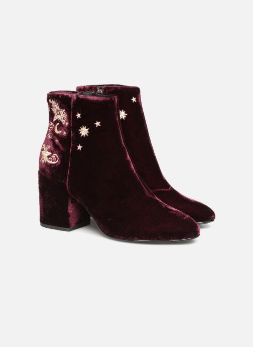 Bottines et boots Ash Elixir Nadine Lux Bordeaux vue 3/4