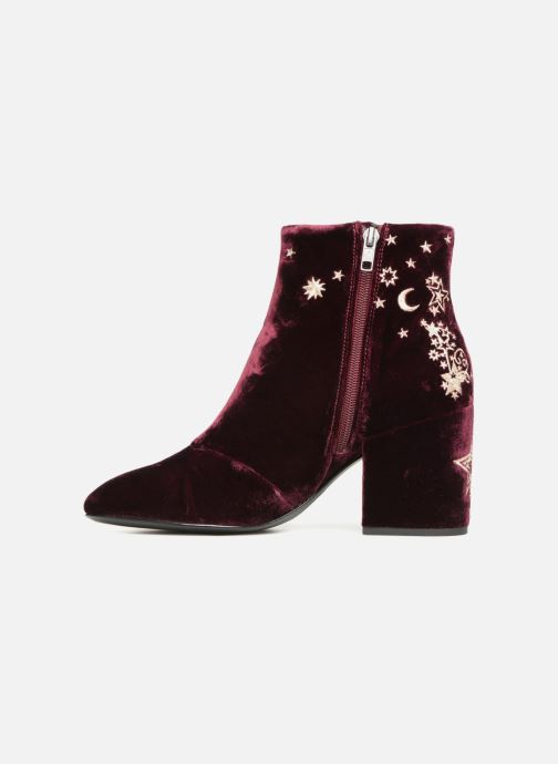 Bottines et boots Ash Elixir Nadine Lux Bordeaux vue face