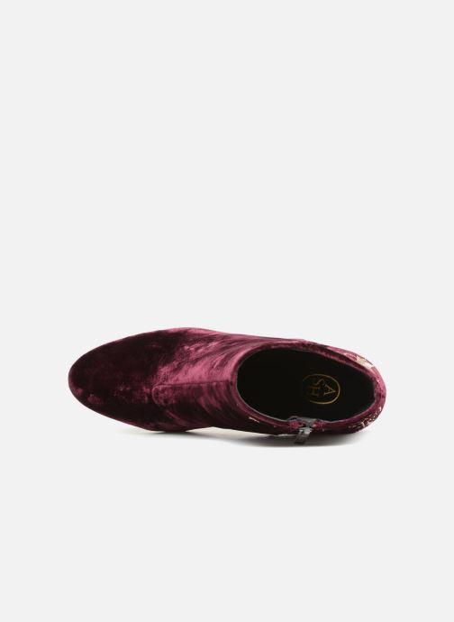Bottines et boots Ash Elixir Nadine Lux Bordeaux vue gauche