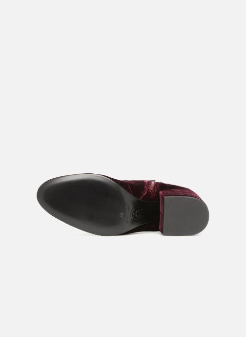 Bottines et boots Ash Elixir Nadine Lux Bordeaux vue haut