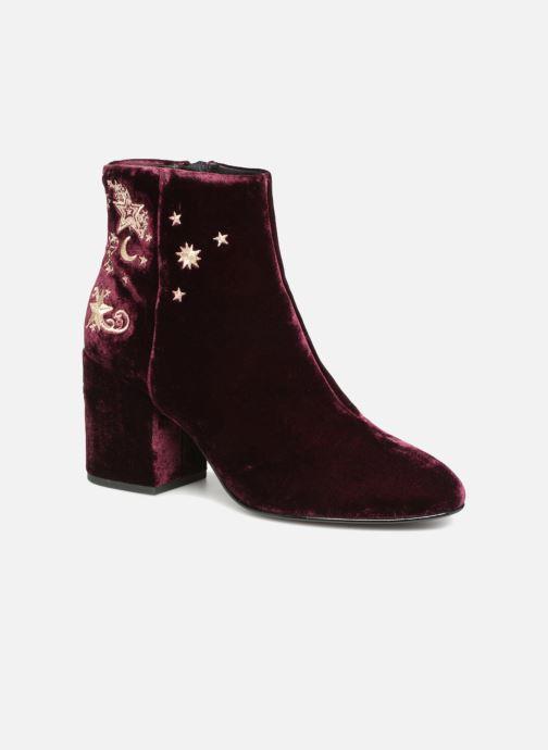 Bottines et boots Ash Elixir Nadine Lux Bordeaux vue détail/paire