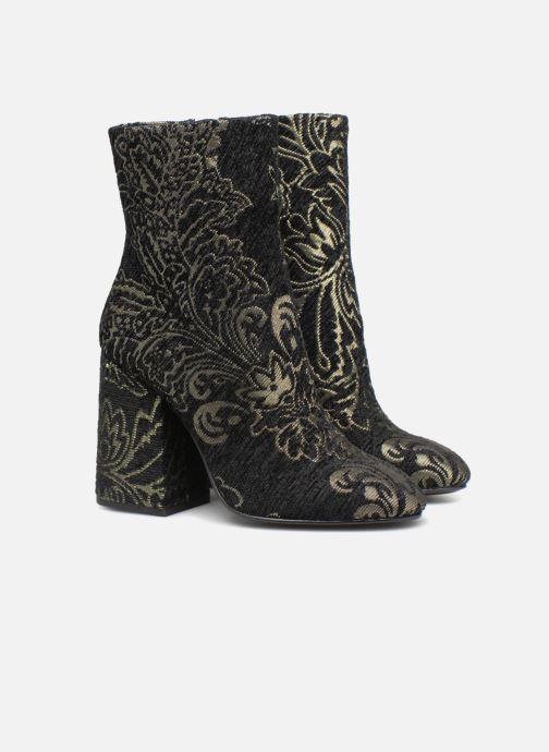 Bottines et boots Ash Fedora Barocco Noir vue 3/4