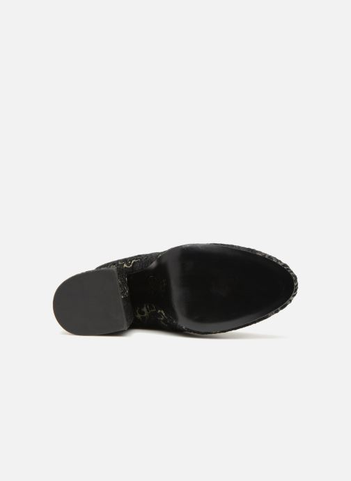 Bottines et boots Ash Fedora Barocco Noir vue haut