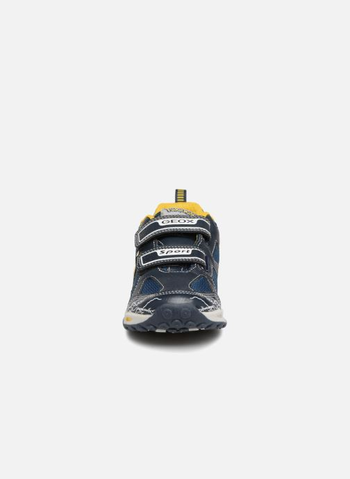 Baskets Geox JR Shuttle x Pokemon Bleu vue portées chaussures