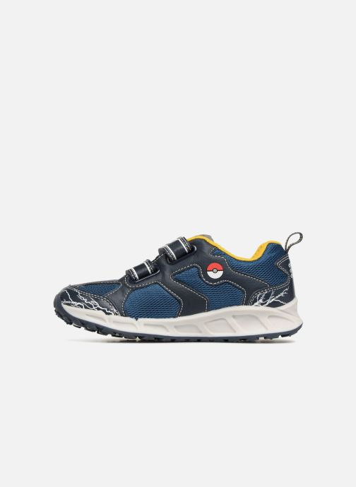 Geox Shuttle Pokemon Navy Yellow Trainers Geox Kids Shoes