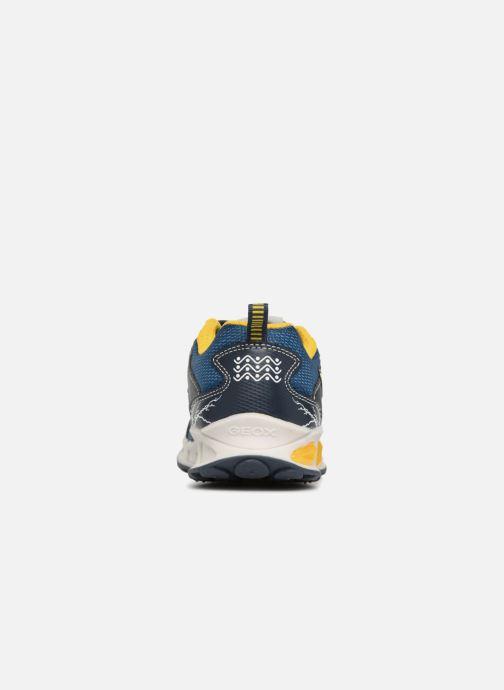 Baskets Geox JR Shuttle x Pokemon Bleu vue droite