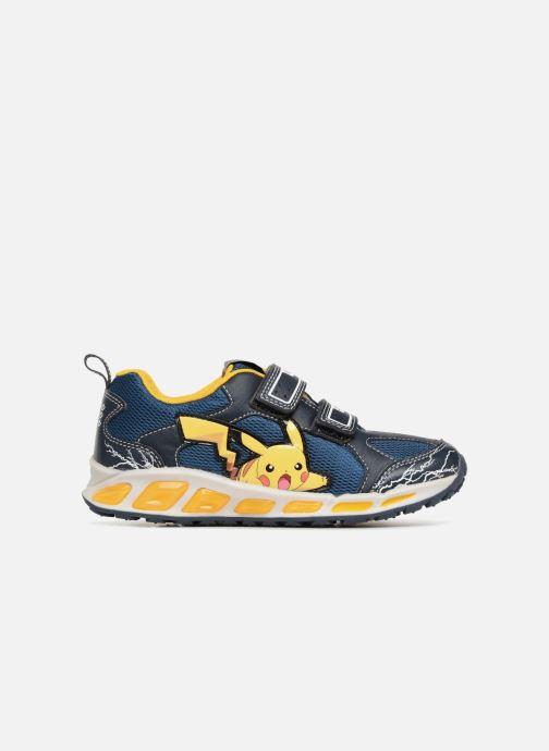 Sneakers Geox JR Shuttle x Pokemon Blå se bagfra