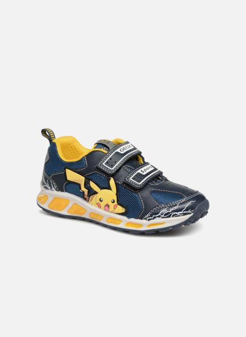 Sneakers Geox JR Shuttle x Pokemon Blå detaljeret billede af skoene