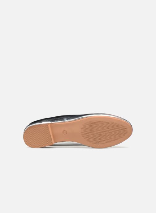 Mocassins I Love Shoes Mcbila Argent vue haut