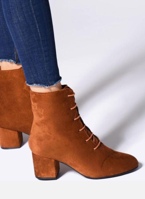 Botines  I Love Shoes MCPOPIN Marrón vista de abajo