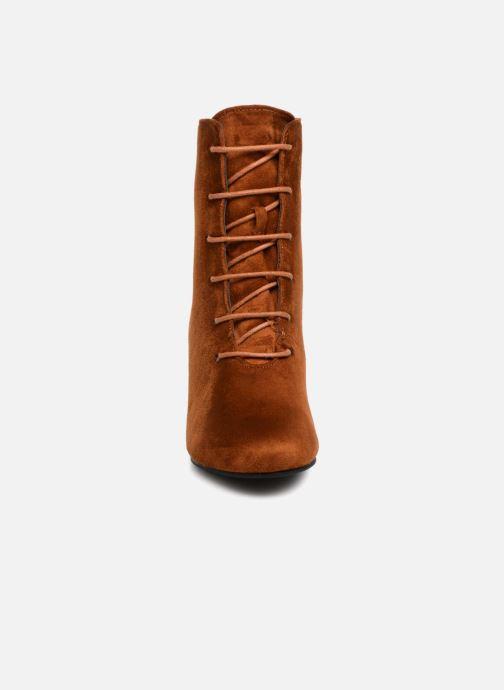 Stivaletti e tronchetti I Love Shoes MCPOPIN Marrone modello indossato