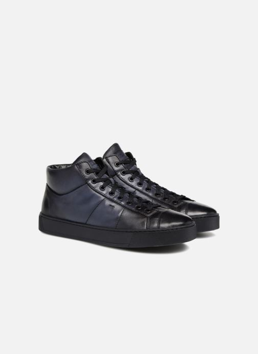 Sneakers Santoni Gloria 20851 Blauw 3/4'