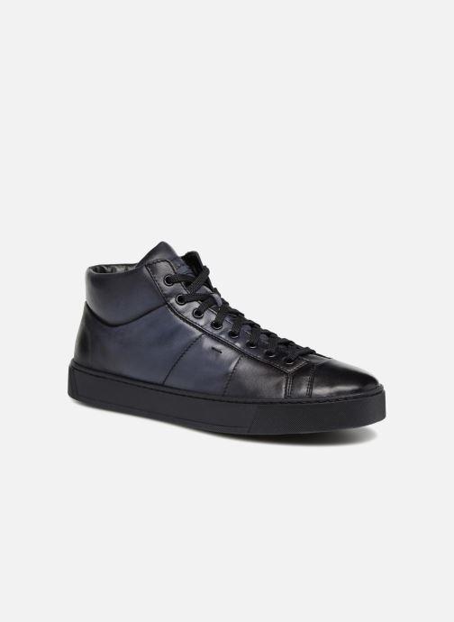 Sneakers Santoni Gloria 20851 Blauw detail