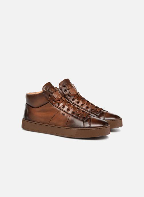 Sneakers Santoni Gloria 20851 Bruin 3/4'