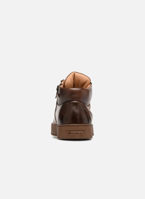 Trainers Santoni Gloria 20851 Brown view from the right