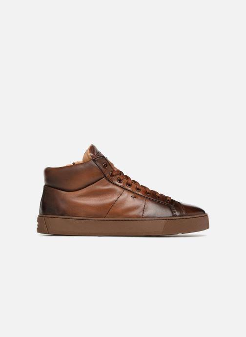 Sneakers Santoni Gloria 20851 Bruin achterkant