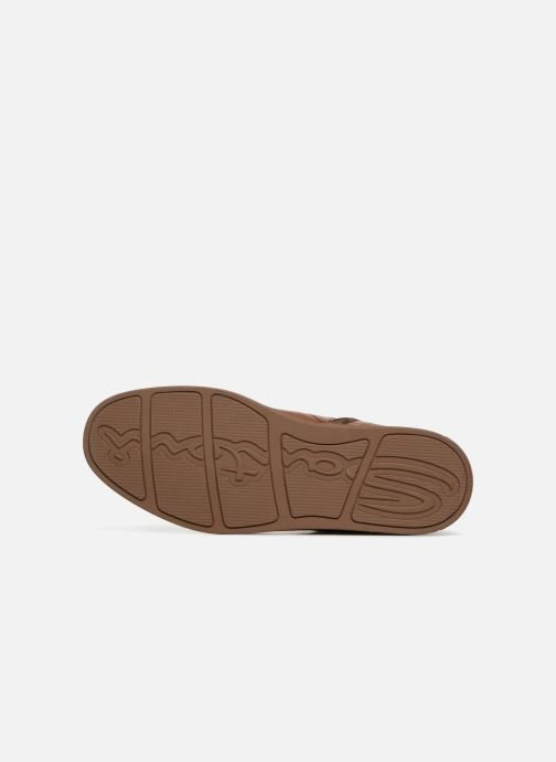 Trainers Santoni Gloria 20851 Brown view from above