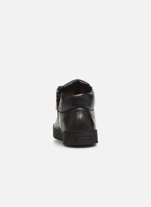Sneakers Santoni Gloria 20851 Grijs rechts