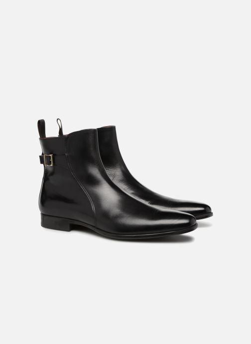 Bottines et boots Santoni William 15812 Noir vue 3/4