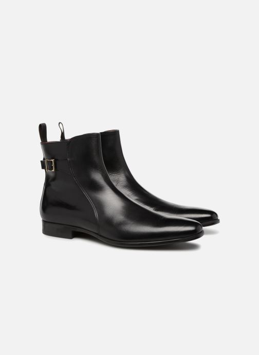 Bottines et boots Santoni William 15812 Noir vue 3/4