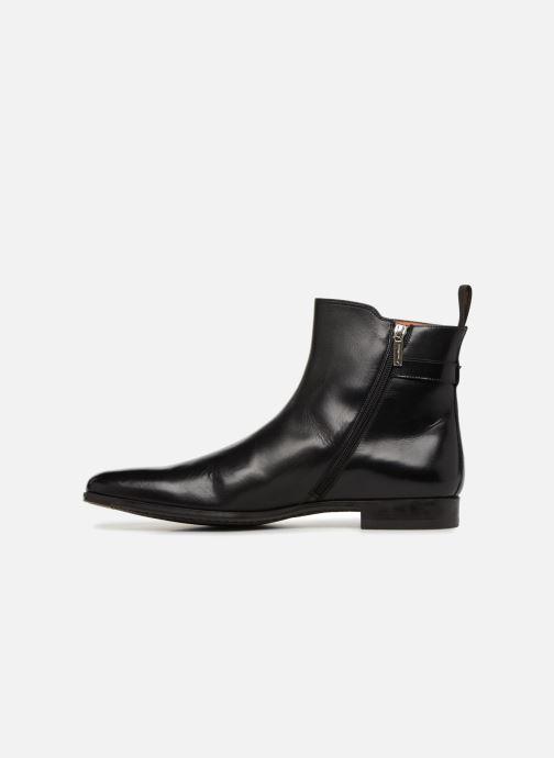 Bottines et boots Santoni William 15812 Noir vue face