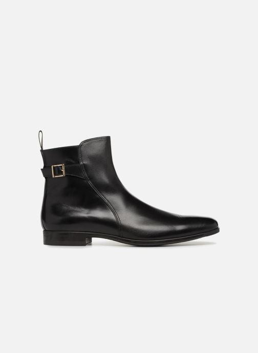 Bottines et boots Santoni William 15812 Noir vue derrière