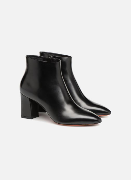 Ankle boots Santoni Holly 57513 Black 3/4 view
