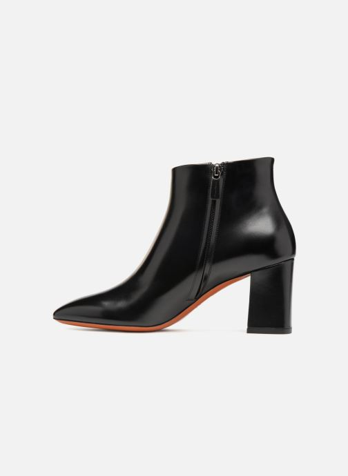 Boots en enkellaarsjes Santoni Holly 57513 Zwart voorkant
