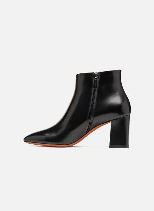 Bottines et boots Santoni Holly 57513 Noir vue face