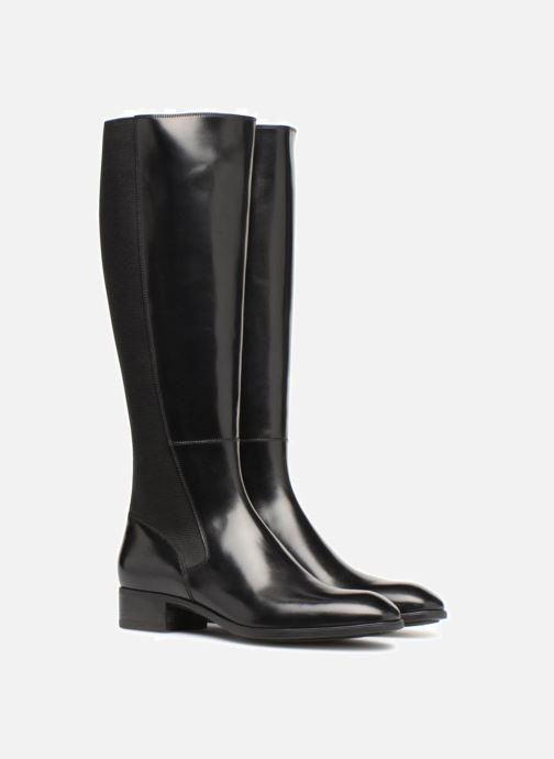 Boots & wellies Santoni Elodie 56081 Black 3/4 view