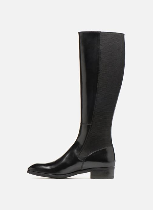 Boots & wellies Santoni Elodie 56081 Black front view