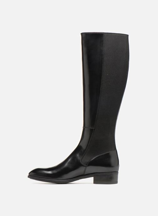 Boots & wellies Santoni Elodie 56081 Black front view