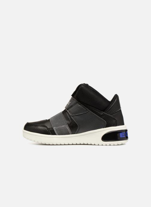 Sneakers Geox J Xled Zwart voorkant