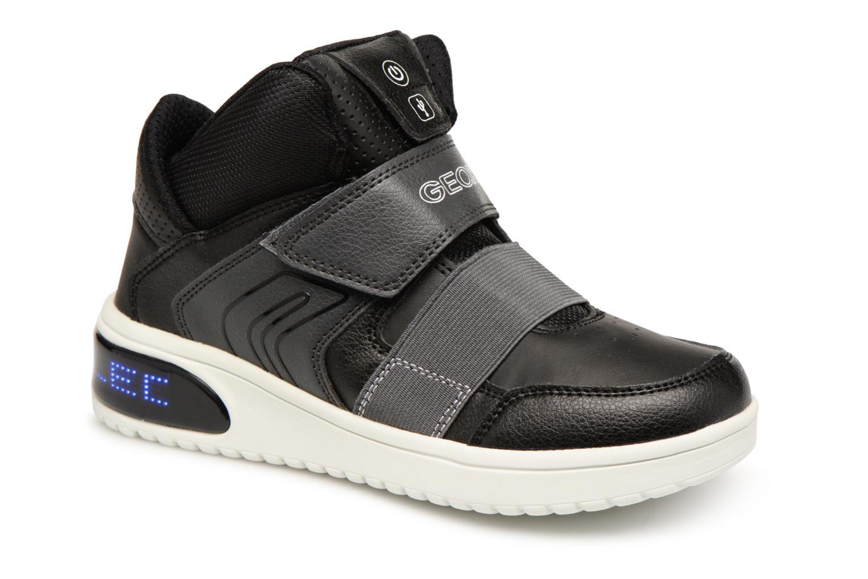 Sneakers Geox J Xled Zwart detail