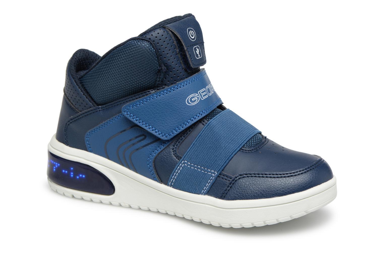 d2677a8d65592 Geox J Xled (Blue) - Trainers chez Sarenza (339733)