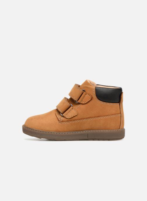 Boots en enkellaarsjes Geox B Hynde Boy WPF B842HA Bruin voorkant