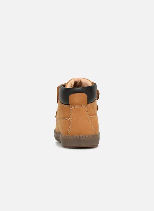 Boots en enkellaarsjes Geox B Hynde Boy WPF B842HA Bruin rechts