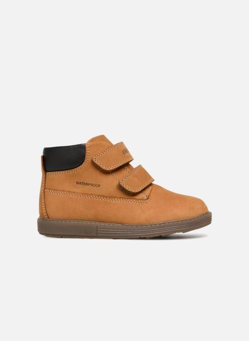 Boots en enkellaarsjes Geox B Hynde Boy WPF B842HA Bruin achterkant
