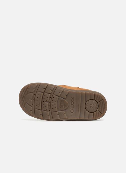 Boots en enkellaarsjes Geox B Hynde Boy WPF B842HA Bruin boven