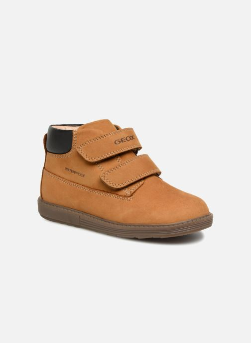 Bottines et boots Geox B Hynde Boy WPF B842HA Marron vue détail/paire