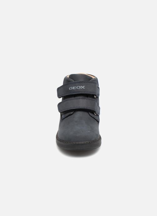 Stiefeletten & Boots Geox B Hynde Boy WPF B842HA blau schuhe getragen