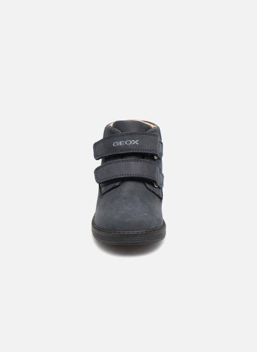 Bottines et boots Geox B Hynde Boy WPF B842HA Bleu vue portées chaussures