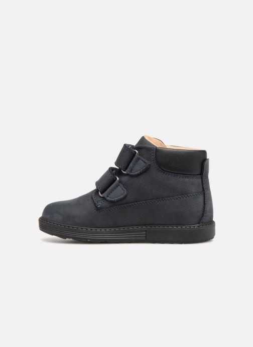 Boots en enkellaarsjes Geox B Hynde Boy WPF B842HA Blauw voorkant