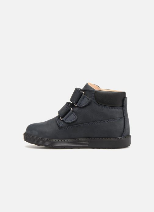 Bottines et boots Geox B Hynde Boy WPF B842HA Bleu vue face