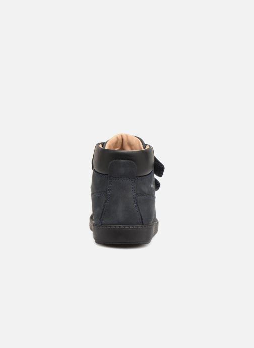 Boots en enkellaarsjes Geox B Hynde Boy WPF B842HA Blauw rechts