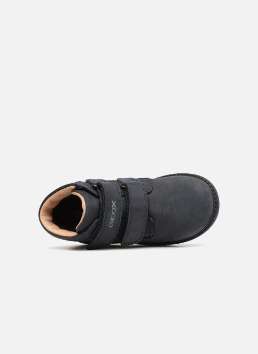 Boots en enkellaarsjes Geox B Hynde Boy WPF B842HA Blauw links