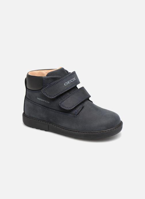 Ankelstøvler Geox B Hynde Boy WPF B842HA Blå detaljeret billede af skoene