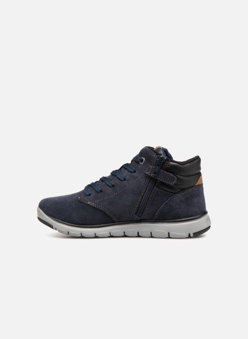 Sneakers Geox J Xunday Boy J843NA Azzurro immagine frontale