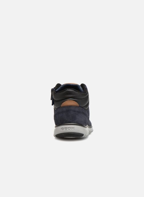 Sneakers Geox J Xunday Boy J843NA Azzurro immagine destra