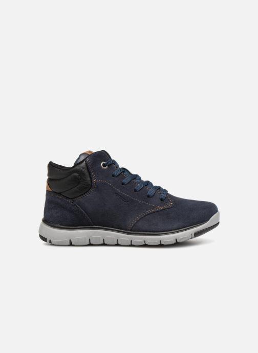 Sneakers Geox J Xunday Boy J843NA Azzurro immagine posteriore